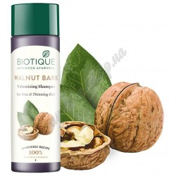 Шампунь Био Грецкий Орех, Biotique Bio Walnut bark Shampoo