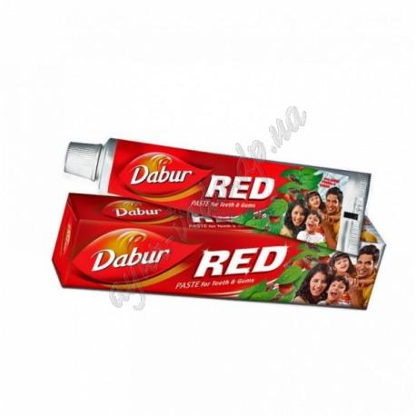Зубна паста Дабур Ред (червона), 100+10 г., Dabur Red, Красная Зубная паста Дабур Рэд, Аюрведа,