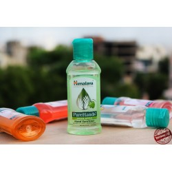 Санітайзер для рук GREEN APPLE 100 мл, Хімалая, Himalaya Herbals Pure Hands Hand Sanitizer Green Apple, Санитайзер для рук,