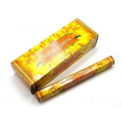 БЛАГОВОНИЕ ИНДИЙСКИЕ ЦВЕТЫ, INDIAN FLOWER HEM, 20 ароматических палочек