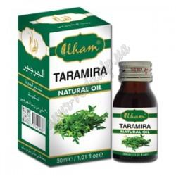 Масло Рукколы 30мл, Масло Тарамира, Ilham Taramira Oil (Масло Усьмы Арабской), для укрепления и роста волос, Аюрведа