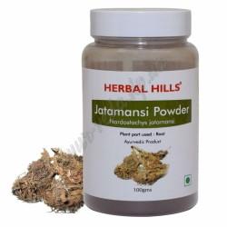 Джатамансі 100 г. Хербал Хілс, Nаrdostachys Jatamansi Herbal Hills, заспокойливий препарат, Нард индийский, Аралия индийская,
