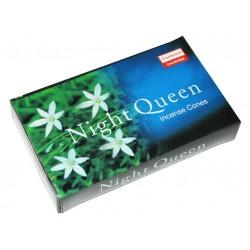 Благовония конусы Ночная королева, Даршан, Darshan Incense Night Queen, 10 ароматических конусов
