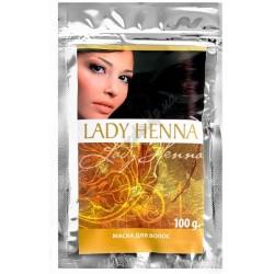 Маска для волос c Амлой Леди Хенна, Lady Henna 100грамм