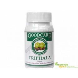 Трифала №60, Трифала Гудкэр, очищение и омоложение, GOODCARE PHARMA PVT. LTD. 60капсул