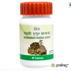 Гокшуради Гуггул, Gokshuradi Guggulu Divya Patanjali, 80 таб. широкий спектр действия для всего организма, Панаджали