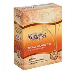 Маска для укрепления волос и против перхоти на основе Индийской Хны, Ааша Хербалс, AASHA Herbals