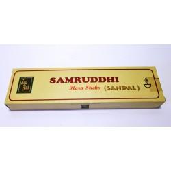 Благовоние пыльцевое натуральное Сандал Самрудхи, Samruddhi Sandal Zed Black, 50 грамм