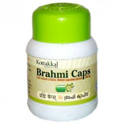 Брахми капсулы, Brahmi caps, Kottakkal, улучшает работу мозга, укрепляет память