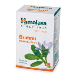 Брахми Хималая улучшает работу мозга, укрепляет память, Himalaya Brahmi, 60таблеток