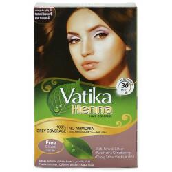 Краска Dabur VATIKA Naturals Коричневая для волос на основе натуральной Хны