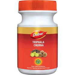 Трифала Чурна Дабур, очищение и омоложение, Triphala Churna, Dabur, 120грамм