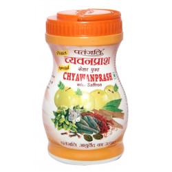 Чаванпраш Патанжали с Шафраном классический, Chavanprash Saffron Classic Patanjali 500грамм