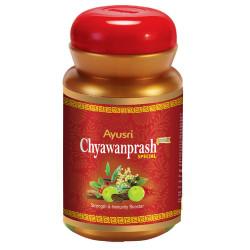 Чаванпраш особый, Сахул, для вас и ваших детей сила 60 сакральных растений, Ayusri Chyawanprash special Sahul 60 vital Herbs