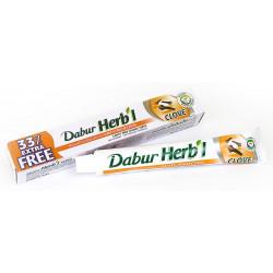 Зубная паста без фтора Дабур Гвоздика, Dabur Herb'l Clove