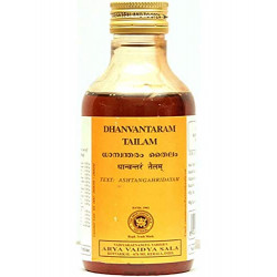 Дханвантарам Тайлам, массажное масло Коттаккал, Dhanwantharam Thailam Kottakkal, 200мл