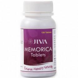 Меморика Джива Аюрведа, Memorica Tablets Jiva Ayurveda, улучшает работу мозга, укрепляет память