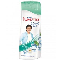 Тальк для тела Навратна, охлаждающий аюрведический, Navratna Cool Talc powder
