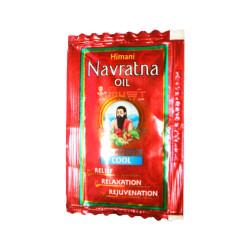 Олія Навратна для голови й тіла 2,7 мл, Масло Навратна, Navratna Red Oil, Аюрведа GAURI,