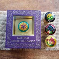 Сухие Духи Жасмин 4 грм. в латунной упаковке, Песня Индии, Song of India, R.Expo, Jasmine, Solid Fragrances