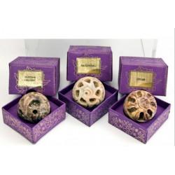 Сухие Духи Изысканный Сандал в каменной шкатулке, Песня Индии, Song of India, R.Expo, Precious Sandal, Natural Fragrant Oil