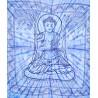 """Покрывало """"Бог Шри Будда"""", синее"""