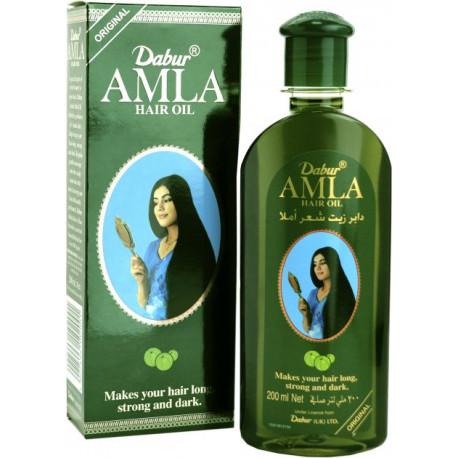 Олія Дабур Амла 200 мл, Масло Амла Дабур, Dabur Enriched Amla Hair Oil, Аюрведа