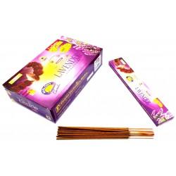 Благовоние пыльцевое Рудракш Мала Лаванда, Rudraksh Mala Lavender Padma Parfumery Works, 15ароматических палочек