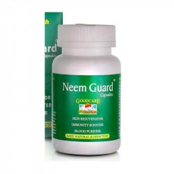 Ним Гард, Ним Гуард, Neem Guard Goodcare, улучшение состояния кожи и печени, 60 капсул
