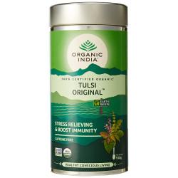 Чай органический Тулси, Базилик, Tulsi, Organic, Organic India, 100грамм