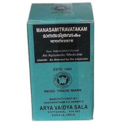 МанасамітраВатакам 10 таб. Коттаккал, Manasamitravatakam, 10 tabs, Kottakkal AVS, Манасамитра Ватакам, Манасамитра вати, Аюрведа