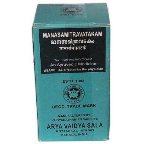Манасамітра Гуліка 100 таб. Вайдьяратнам, Манасамитра Гулика, Manasamithram Gulika Vaidyaratnam, Аюрведа