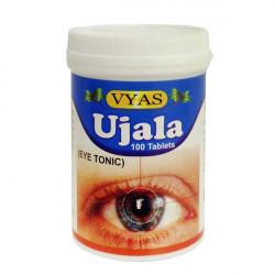 """Таблетки - тоник для глаз """"Уджала"""", Ujala Vyas, 100таблеток"""