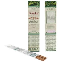 Благовоние пыльцевое Пачули (Патчоли), Goloka Patchouli, 15грамм