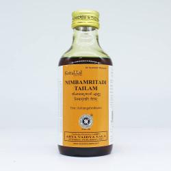 Масло Нимбаамритади Таил, Nimbamritadi Tailam, Kottakkal Arya Vaidya Sala, 200мл