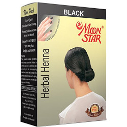 Краска для волос Moon Star black, Мун Стар чёрный, 10грамм