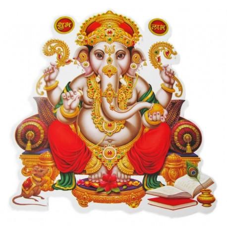 Стикер-наклейка Шри Ганеша, Индийские Божества