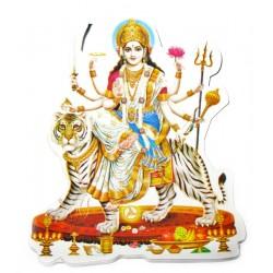 Наклейка Богиня Шри Дурга Мата, Индийские Божества