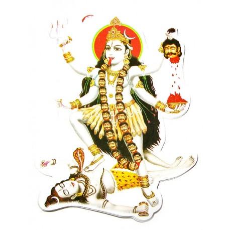 Наклейка Богиня Шри Кали, Индийские Божества