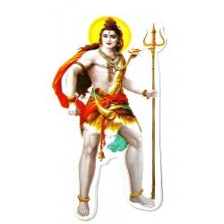 Наклейка Бог Шри Шива, Индийские Божества