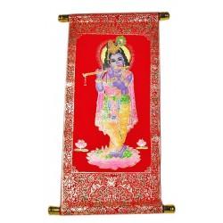 Панно Шри Кришна с флейтой, Индийские Божества