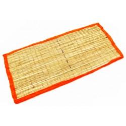 Коврик для медитации из травы Куша, Kusha Asan, Красный кант