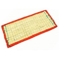 Коврик для медитации из травы Куша, Kusha Asan, Бардовый кант