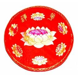 Подушка с рисунком Лотос для Медитации