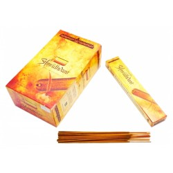 Ароматические палочки Амрут с пряным ароматом Туласи, Сандала и Агара, Божественный напиток, Сандеш, Sandesh Amruthvani