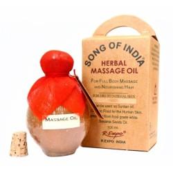 Массажное-ароматическое масло Афродезия для волос и загара Песня Индии, Aphrodesia Blossom Song of India, 100мл