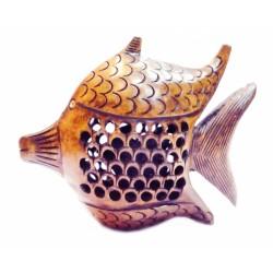 """Рыба деревянная эвкалипт С5011-4"""""""