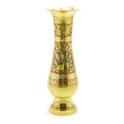 """Ваза бронзовая цветная Flower vase Glass Clr 10"""""""