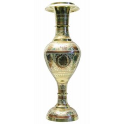 """Ваза бронзовая цветная Flower vase Kashmiri Clr 20"""""""