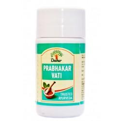 Прабхакар бати Сердечный тоник, Дабур, Prabhakar bati Dabur 40 таблеток